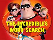 The Incredibles Word Search